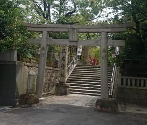 三光神社鳥居2