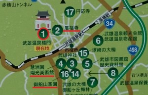 武雄温泉マップ