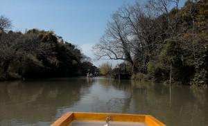 柳川川下り1